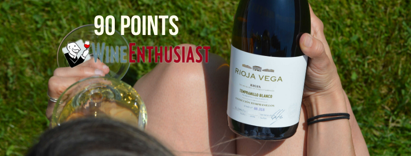 Rioja Vega Colección Tempranillo Blanco 2018 receives 90 points WINE  ENTHUSIAST