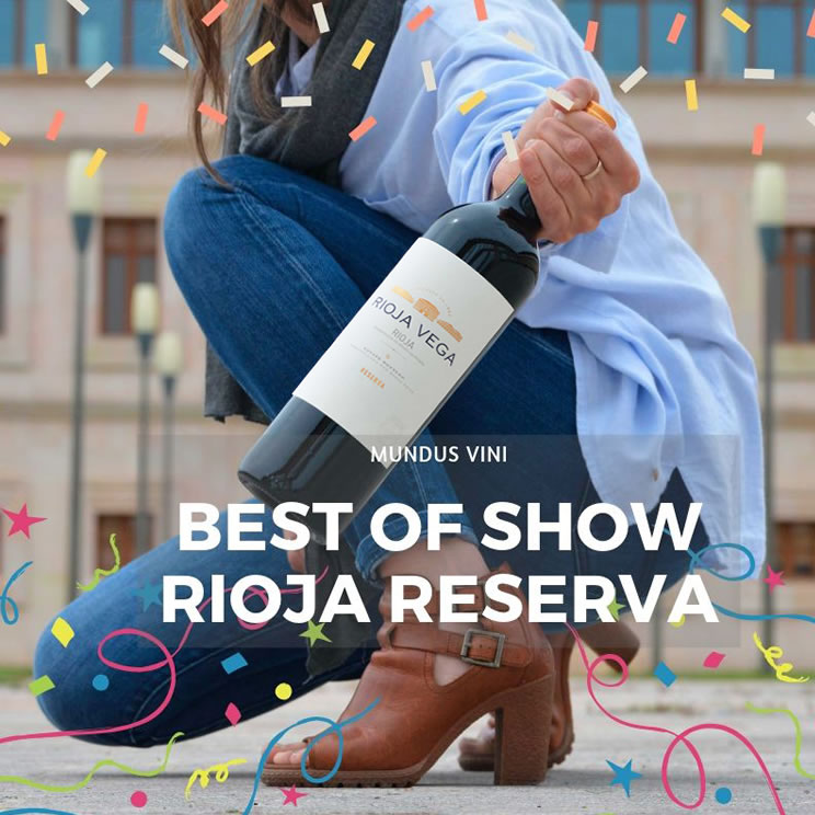 Best of show Rioja Reserva & Gold Medal