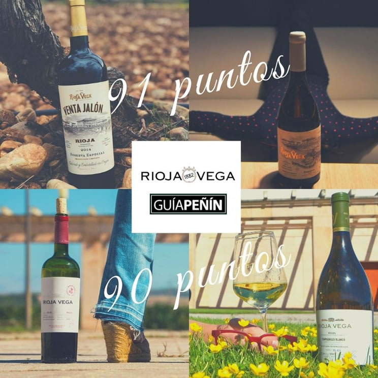 Outstanding ratings from guía peñín 2020 for RIOJA VEGA
