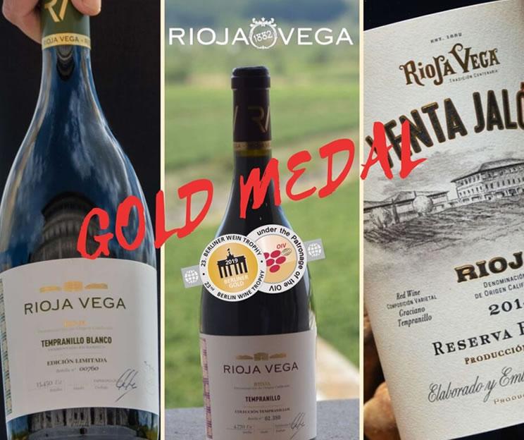 Rioja Vega wines, yet one more award
